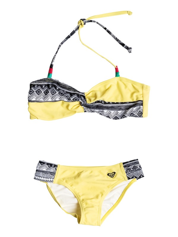 0 Girls 7-14 Gypsy Geo Twist Bikini  PGRS68857 Roxy