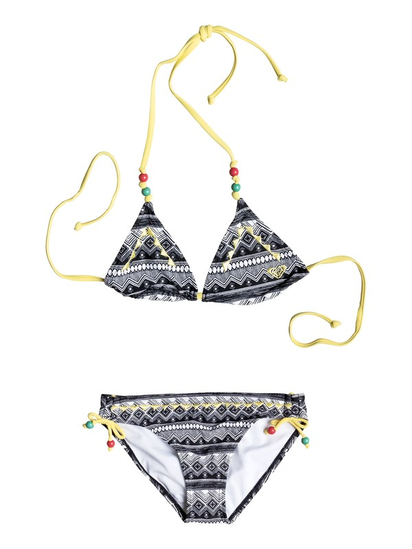 0 Girls 7-14 Gypsy Geo Tiki Triangle Set  PGRS68867 Roxy