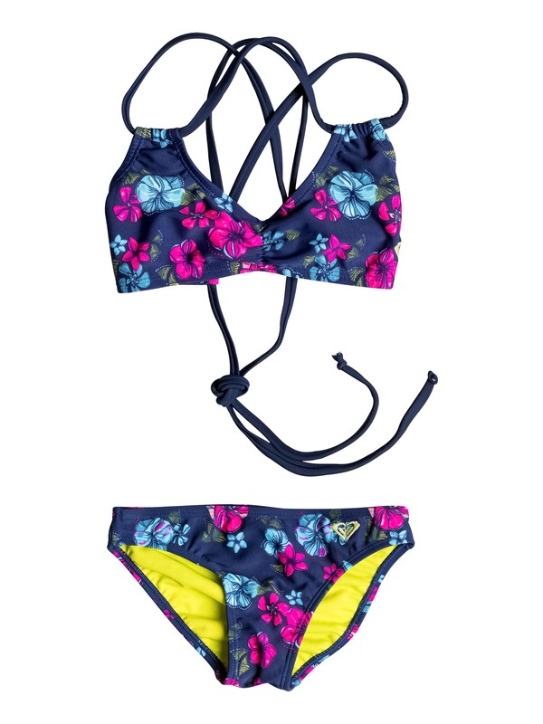 0 Girls 2-6 Tropical Traditions Triangle Set  PGRS68926 Roxy
