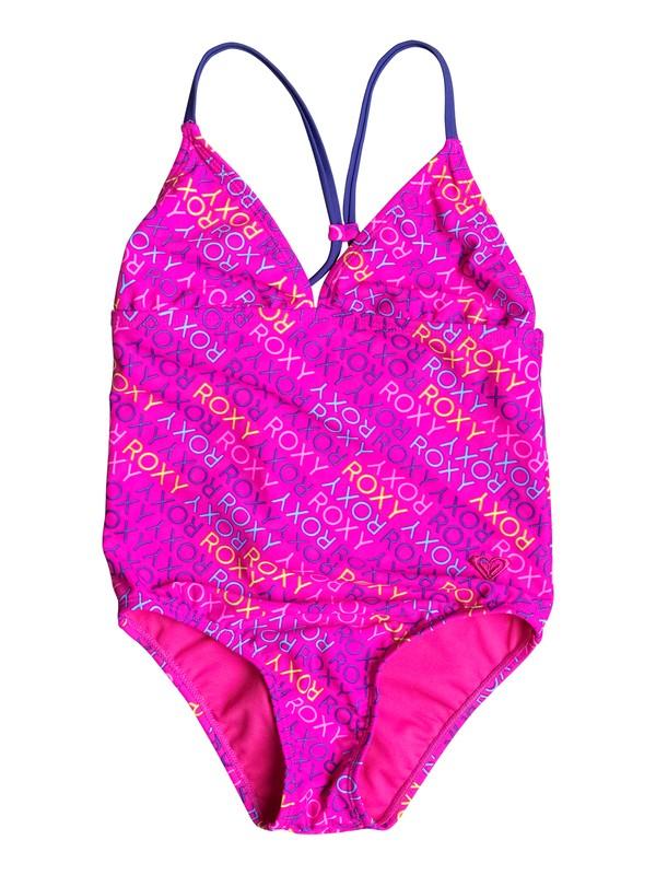 0 Girls 2-6 Roxy Ready One-Piece Swimsuit  PGRS68986 Roxy