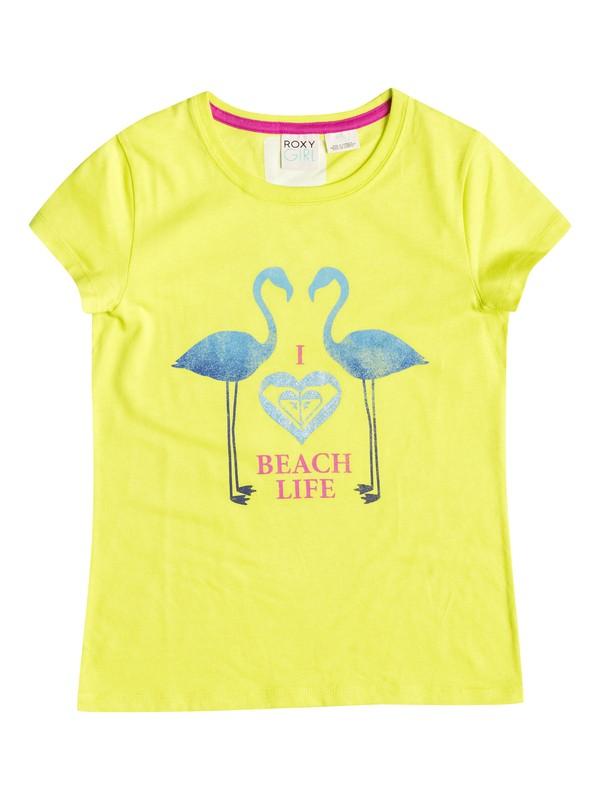 0 Girl's 7-14 Beach Life Tee  RRF51017 Roxy