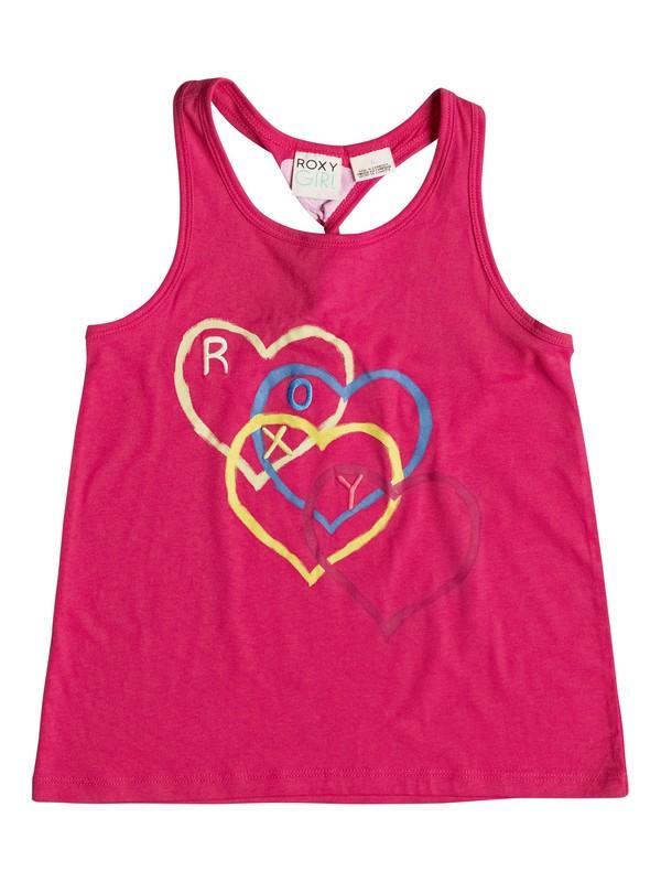 0 Girl's 2-6 I Heart U Tank Top  RRF51586 Roxy