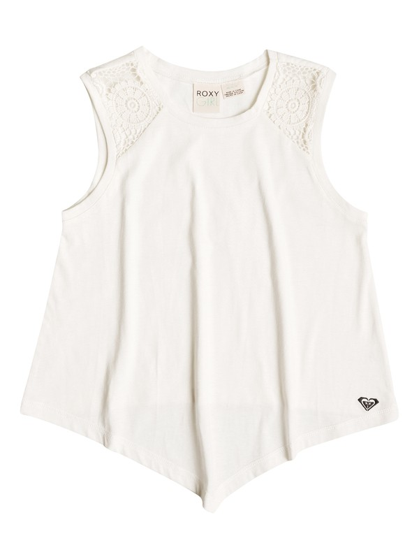 0 Girl's 7-14 Seagull Flair Top  RRF51627 Roxy