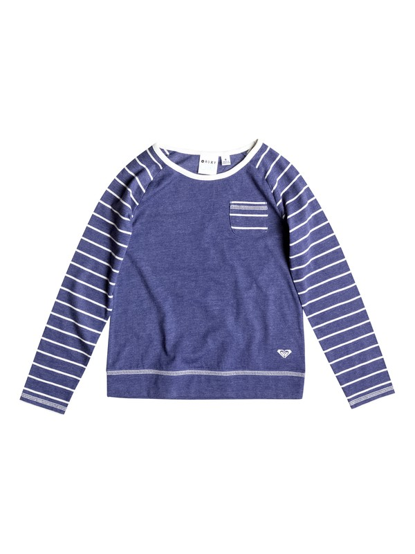0 Girl's 2-6 Sailor Stripes Top  RRF51876 Roxy