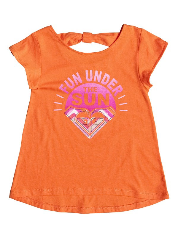 0 Girl's 2-6 Fun Under The Sun Tee  RRF51926 Roxy