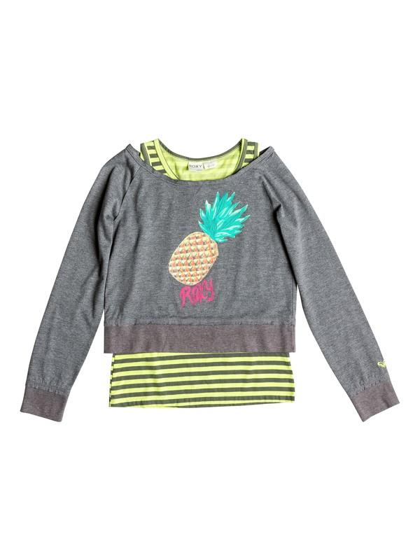 0 Girl's 7-14 Cool Pineapple Tee  RRF51947 Roxy