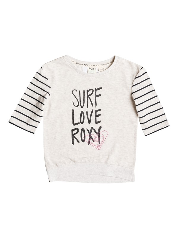 0 Girl's 2-6 Surf Love Tee  RRF51966 Roxy