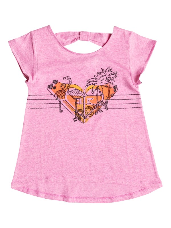 0 Girl's 2-6 Flamingo  Tee  RRF51986 Roxy