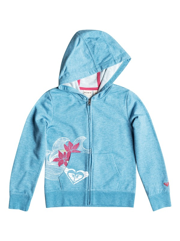 0 Girl's 2-6 Catch A Wave Zip Hoodie  RRF52066 Roxy