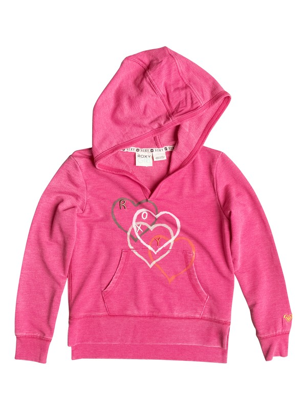 0 Baby Falling Heart Pullover Hoodie  RRF52211 Roxy