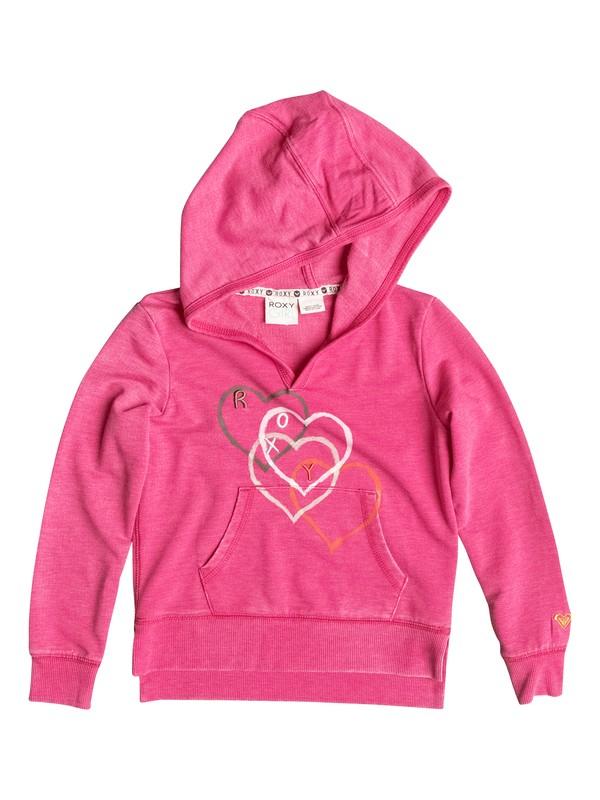 0 Girl's 2-6 Falling Heart Pullover Hoodie  RRF52216 Roxy