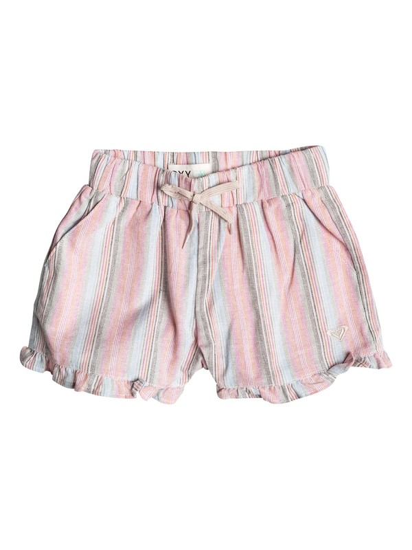 0 Baby Ruffle Striped Shorts  RRF55041 Roxy
