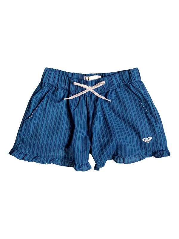 0 Girl's 2-6 Sunset Striped Shorts  RRF55456 Roxy