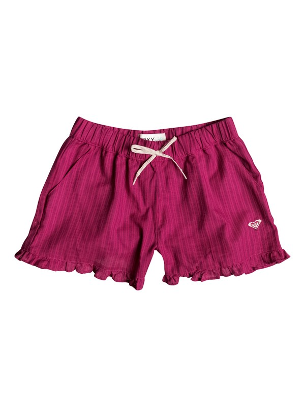 0 Girl's 7-14 Sunset Striped Shorts  RRF55457 Roxy