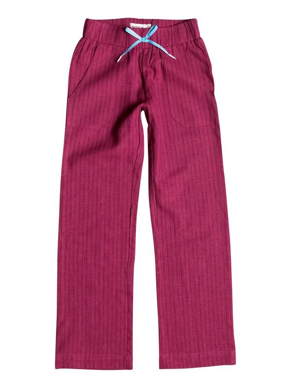 0 Girl's 7-14 Beach Comber Pants  RRF55477 Roxy