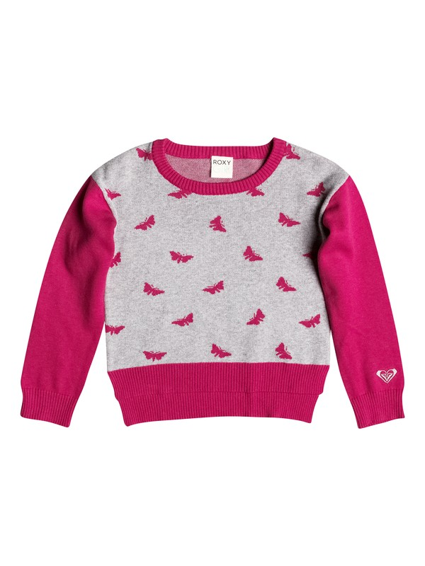 0 Girl's 2-6 Butterfly Kiss Pullover Sweater  RRF56016 Roxy