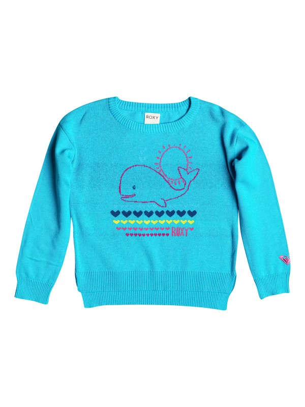 0 Girl's 2-6 Heart Whale Pullover Sweater  RRF56026 Roxy