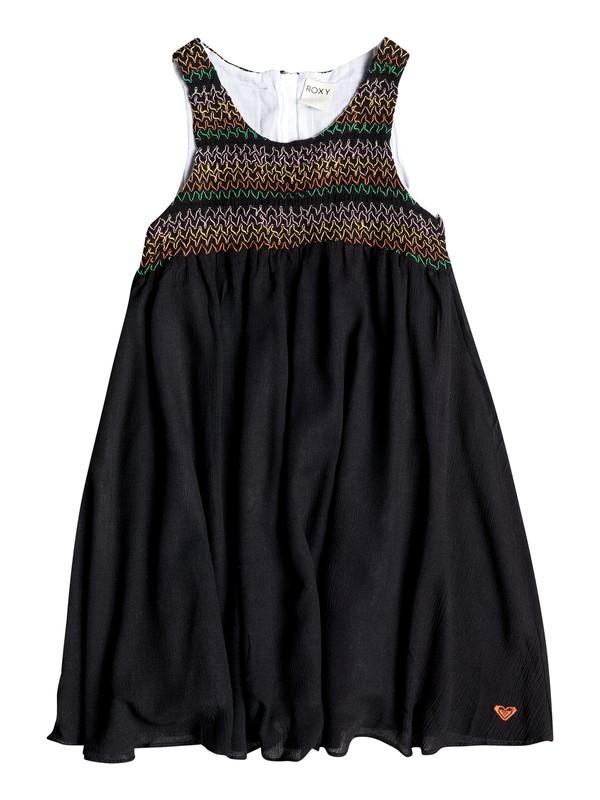 0 Girl's 7-14 Sunflair Dress  RRF58007 Roxy