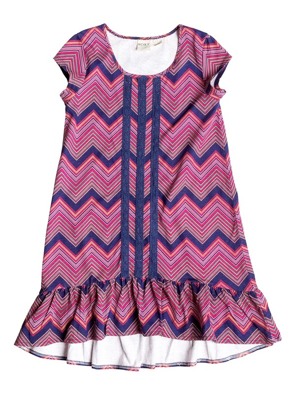 0 Girl's 7-14 Yacht Club Dress  RRF58207 Roxy