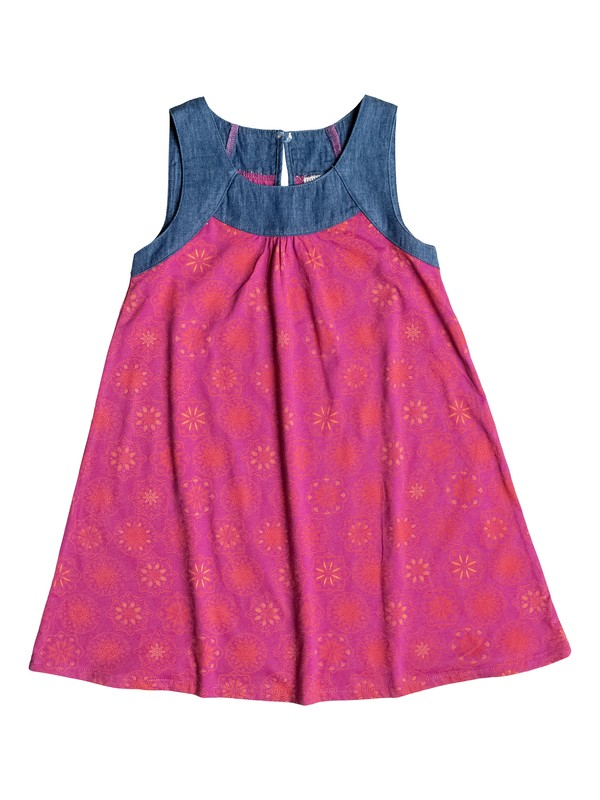 0 Girl's 2-6 Medallion Print Dress  RRF58376 Roxy