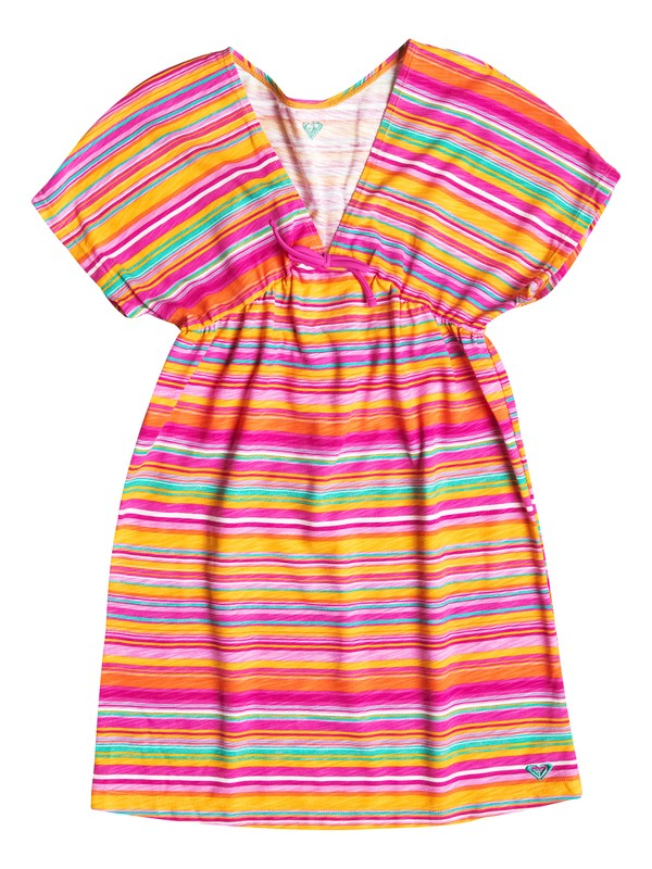 0 Girl's 7-14 Jungle Times Striped Cover Up  RRF58397 Roxy