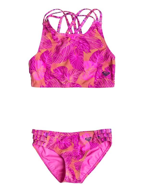 0 Girl's 7-14 Valencia Beach Tankini Set  RRF68727 Roxy