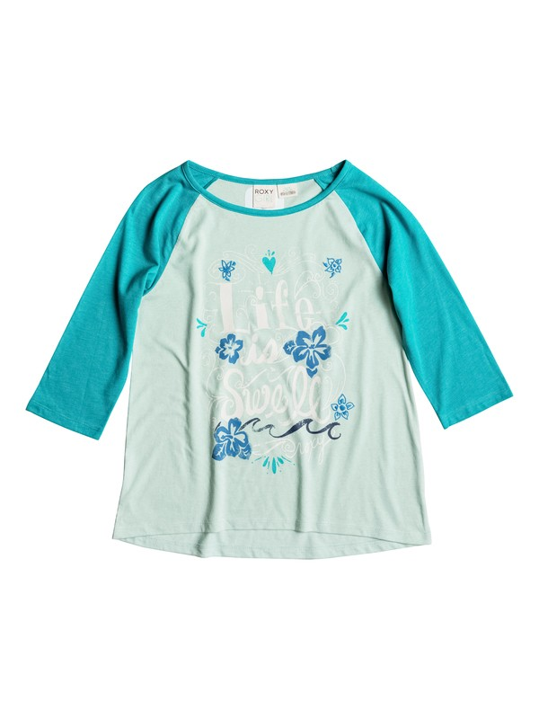0 Girls 7-14 Big Swell T-Shirt  RRH51037 Roxy