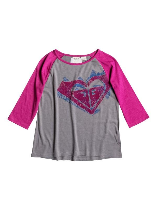 0 Girls 7-14 Big Vintage T-Shirt  RRH51047 Roxy