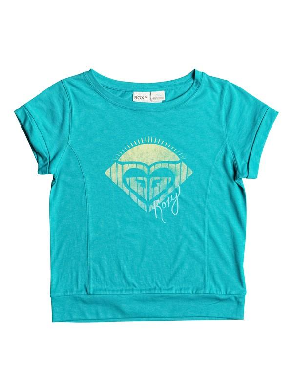 0 Girls 7-14 Big Sport Circle T-Shirt  RRH51067 Roxy