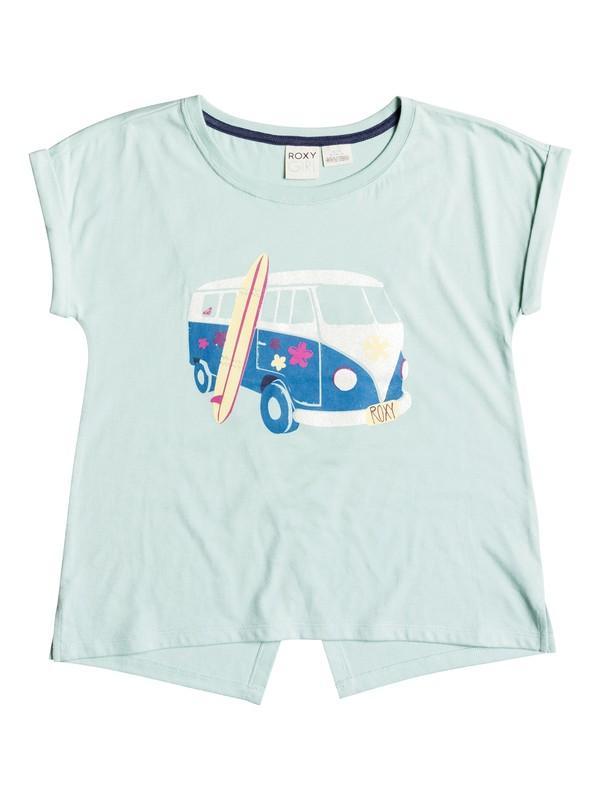 0 Girls 7-14 Big Road Trippin T-Shirt  RRH51097 Roxy