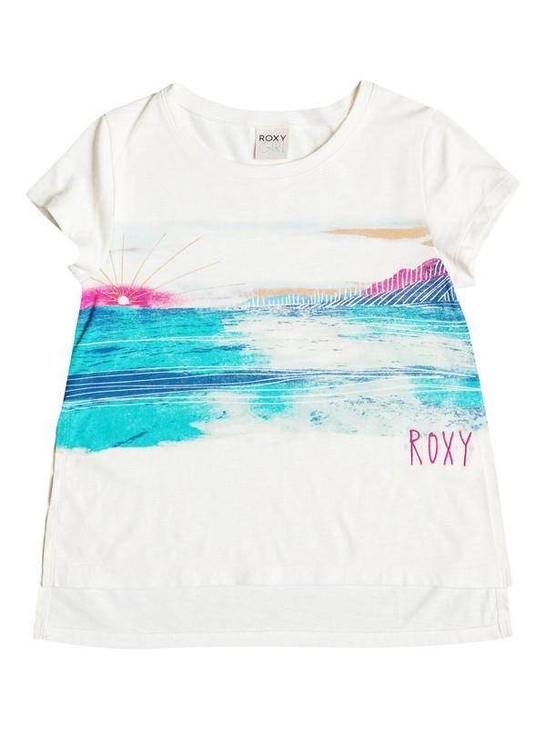 0 Girls 7-14 Big Ocean Vista T-Shirt  RRH51157 Roxy