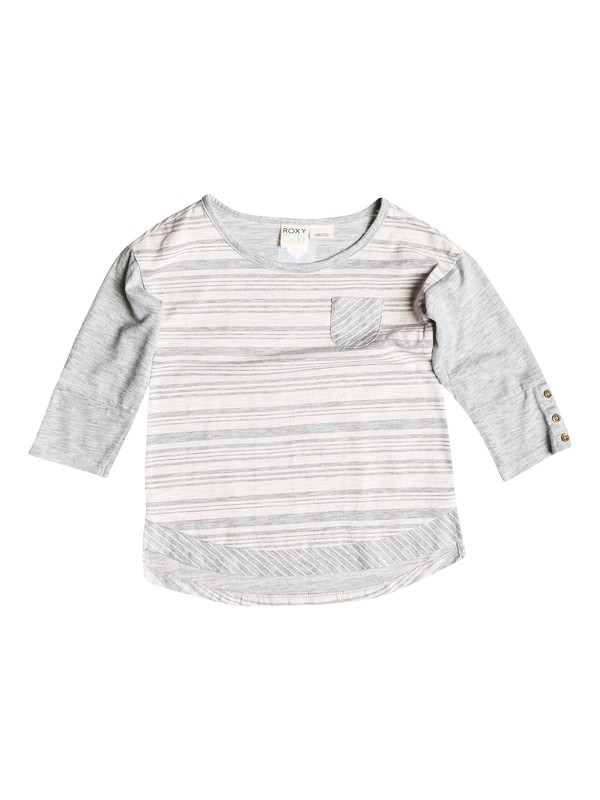 0 Girls 2-6 Climbing 3/4 Sleeve Top  RRH51286 Roxy