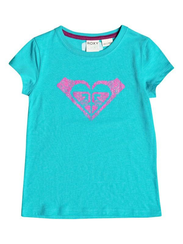 0 Girls 2-6 Swirl T-Shirt  RRH51326 Roxy