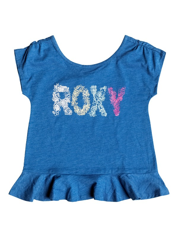 0 Girls 2-6 Sea Girl T-Shirt  RRH51376 Roxy