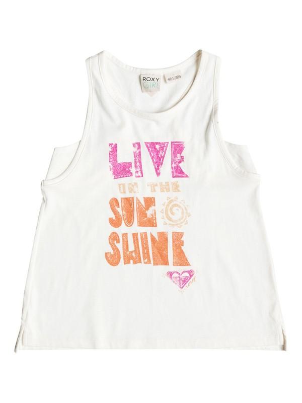 0 Girls 2-6 Livin T-Shirt  RRH51426 Roxy