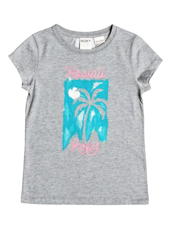 0 Girls 2-6 Classic Palm T-Shirt  RRH51566 Roxy