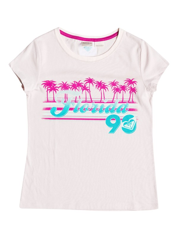 0 Girls 2-6 Florida 90 T-Shirt  RRH51576 Roxy