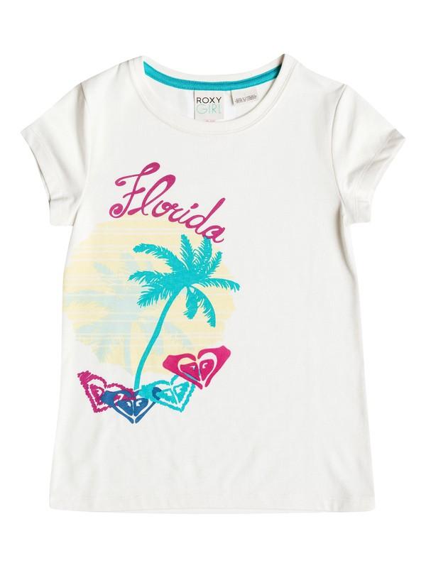 0 Girls 2-6 Sunsets T-Shirt  RRH51586 Roxy