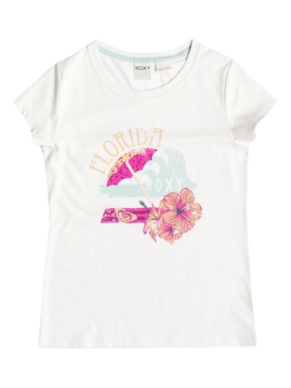 0 Girls 2-6 Umbrella T-Shirt  RRH51596 Roxy