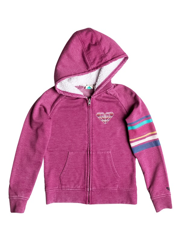 0 Girls 7-14 Big Retro Waves Zip-Up Hoodie  RRH52187 Roxy