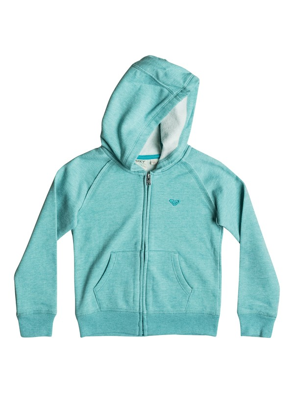 0 Girls 2-6 Snowday Zip-Up Hoodie  RRH52356 Roxy