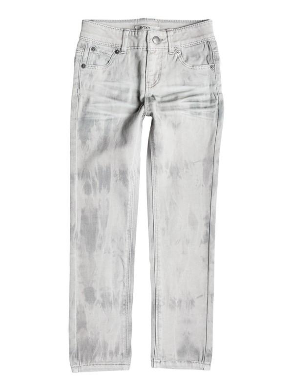 0 Girls 7-14 Big Wipe Outs Jeans  RRH55077 Roxy