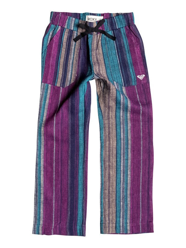 0 Girls 2-6 Beach Stripe Pants  RRH55096 Roxy