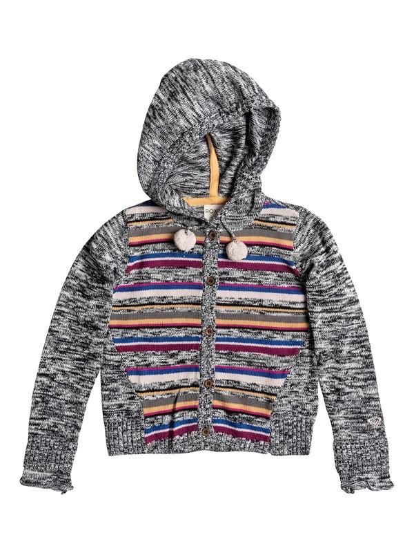 0 Girls 2-6 Pom Pom Knitted Hoodie  RRH56046 Roxy