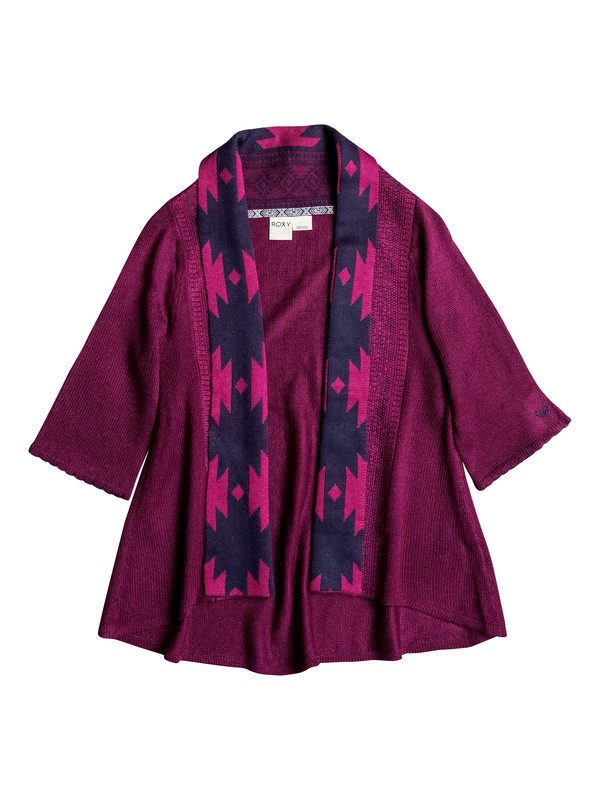 0 Girls 7-14 Big Indie Cozy Cardigan  RRH56067 Roxy