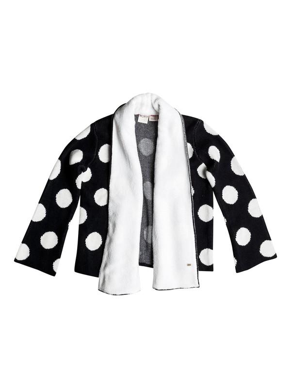 0 Girls 2-6 Polkadot Pretty Cozy Sweater  RRH56086 Roxy