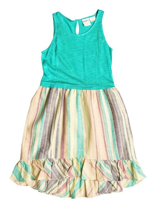 0 Girls 7-14 Big Holiday Vacays Dress  RRH58057 Roxy