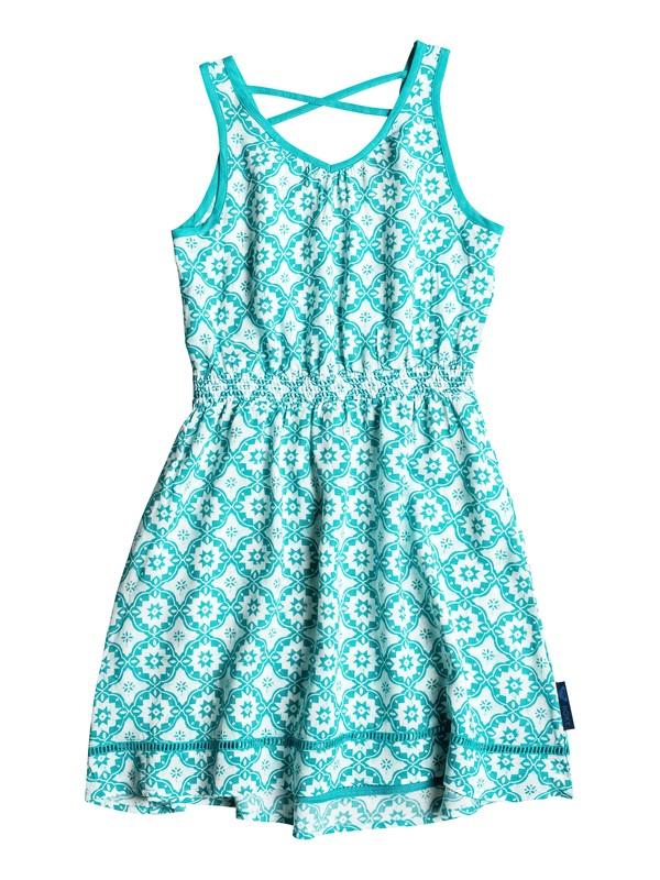 0 Girls 7-14 Big Pleasant Peasant Dress  RRH58077 Roxy