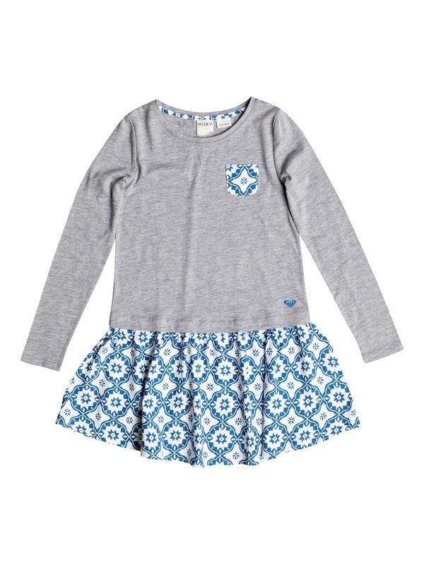 0 Girls 7-14 Big Snow Cone Dress  RRH58227 Roxy