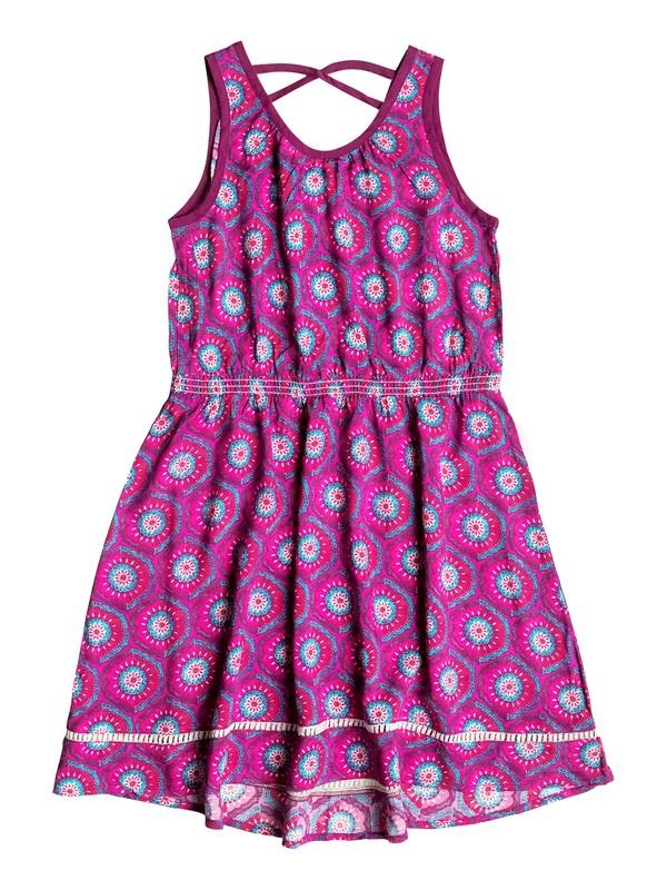 0 Girls 7-14 Big Pretty Peasant Dress  RRH58237 Roxy